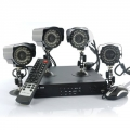Complete IP camera set 4 IP camera's